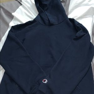 Kids authentic blue hoodie